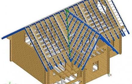 Формы крыш и их стропильные системы