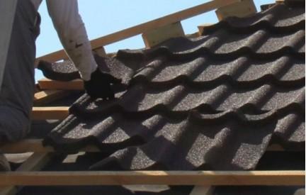Примерка для крыши. Расчет количества материала