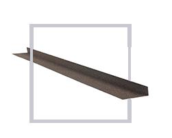 Планка бокового примыкания №1